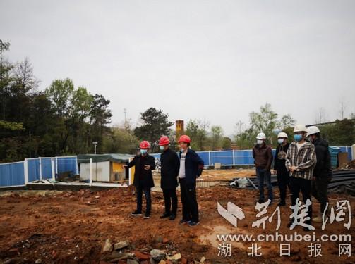 """黄石城建项目复工复产""""加速"""""""