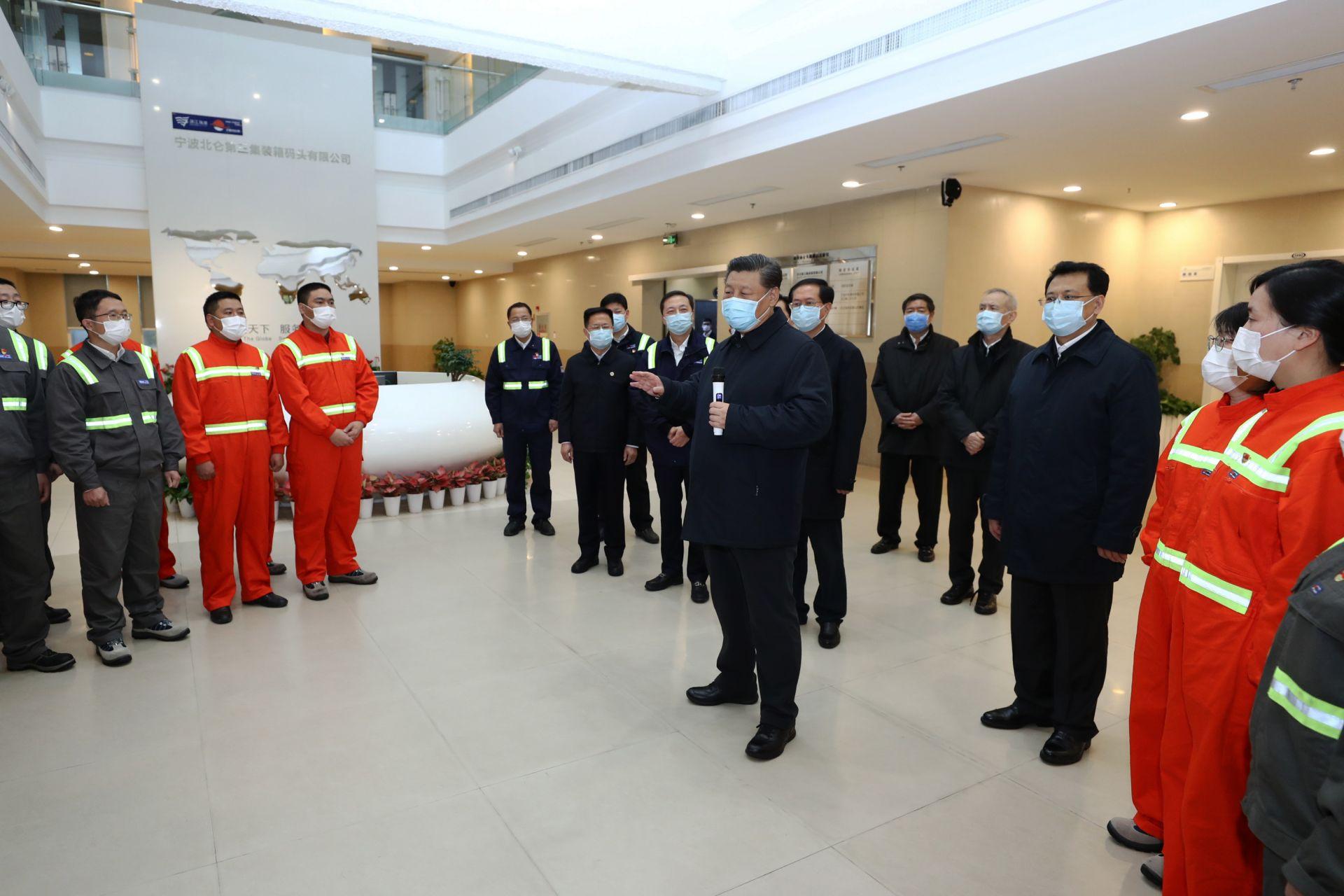 习近平在浙江考察 统筹推进疫情防控和经济社会发展工作