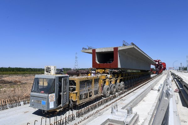京雄城际铁路河北段建设有序推进