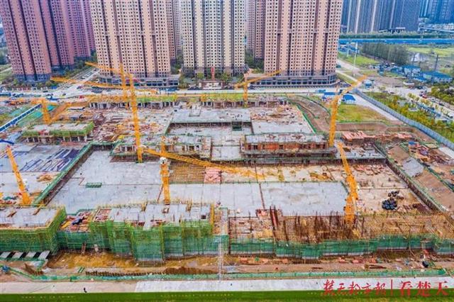 100%!武汉长江新城在建重大项目全部复工