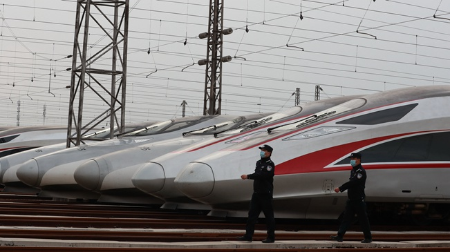武汉:做好铁路客运发车准备
