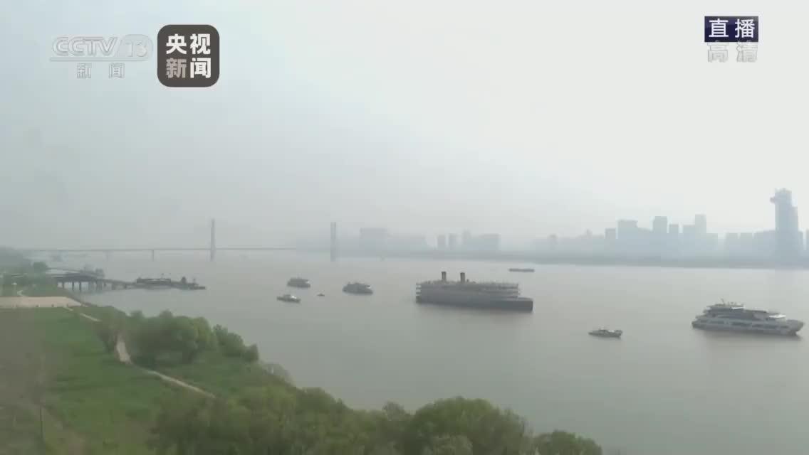 武汉江滩悼念活动