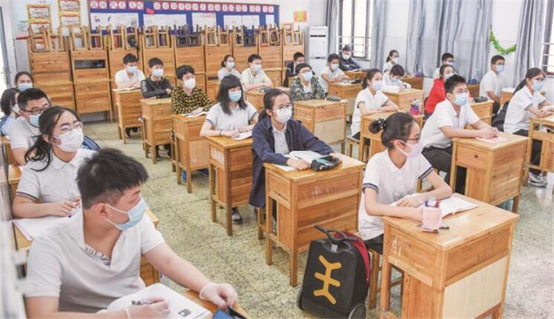 武汉7.28万初三学生有序返校复课