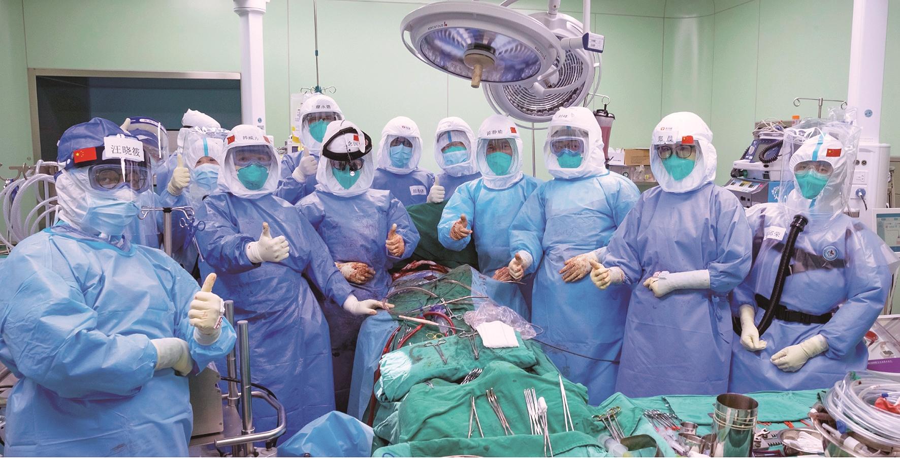 患者使用人工肺73天后换上新肺 系全球使用人工肺时间最长的器官移植受者