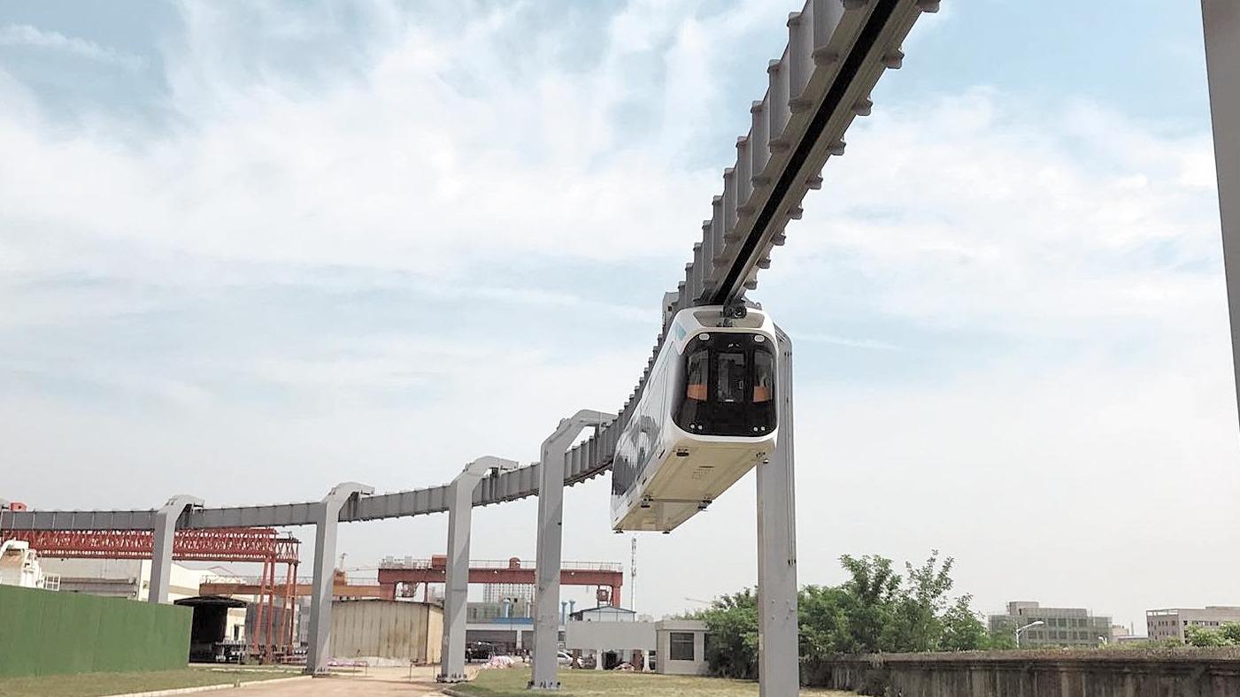 首条空轨试验线在武汉江夏启动 恩施将开建全国首条商业空轨线
