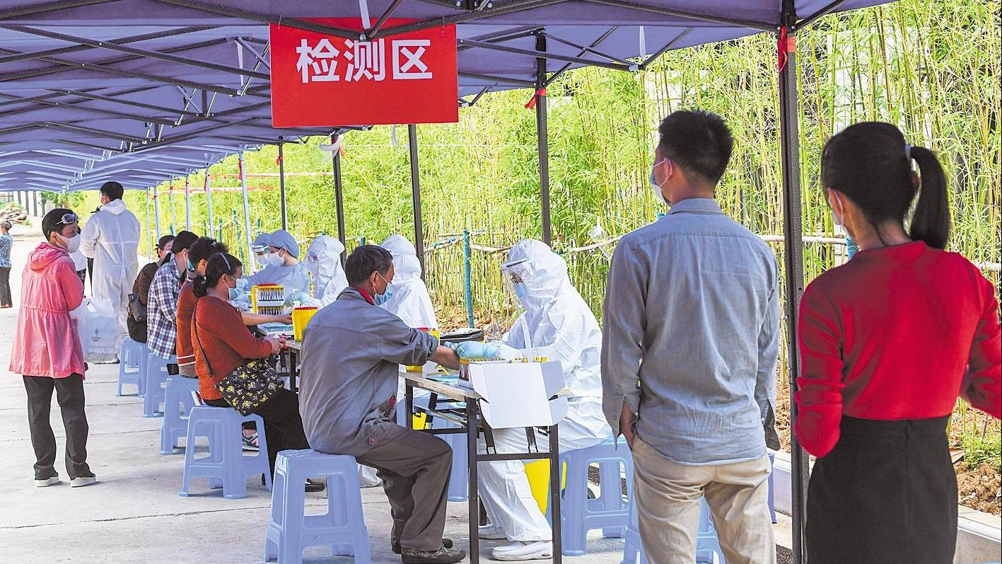 武汉集中核酸采样检测进入尾声