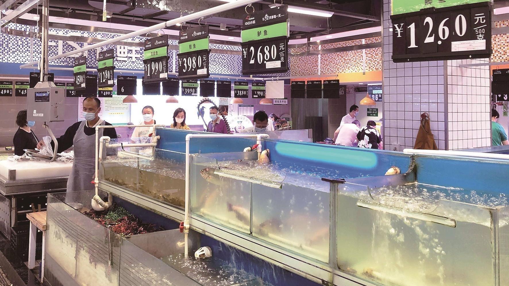 各类淡水鱼进入繁殖季 家常鱼价格上涨