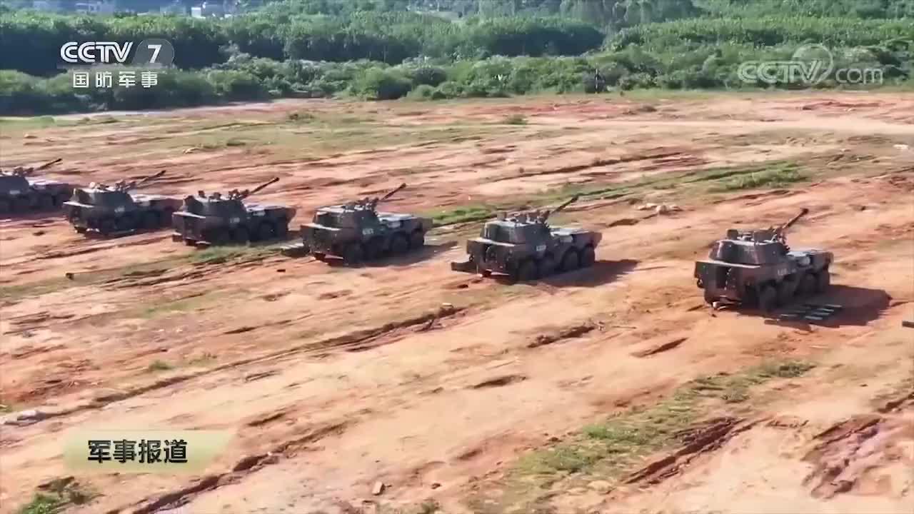 实拍74军多型火炮山地猛烈射击,155炮车内画面罕见曝光