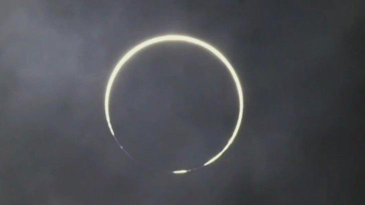 金环日食来了!你看到了吗?