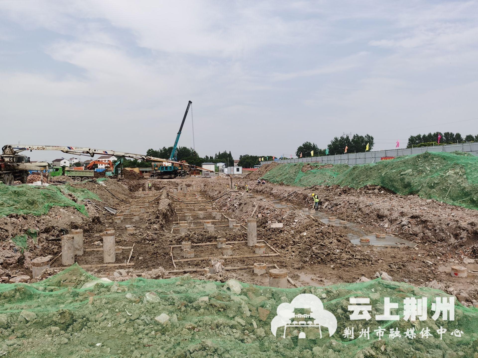 荆州市疾病预防控制检验中心预计七月进行主体施工
