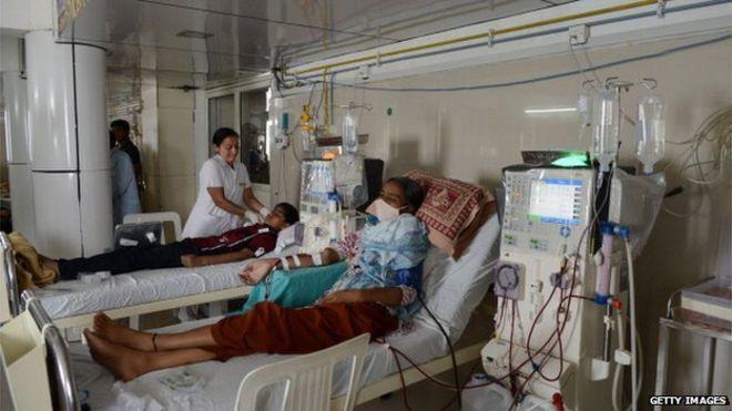 印度一家癌症医院暴发集体感染 10天内约100人确诊