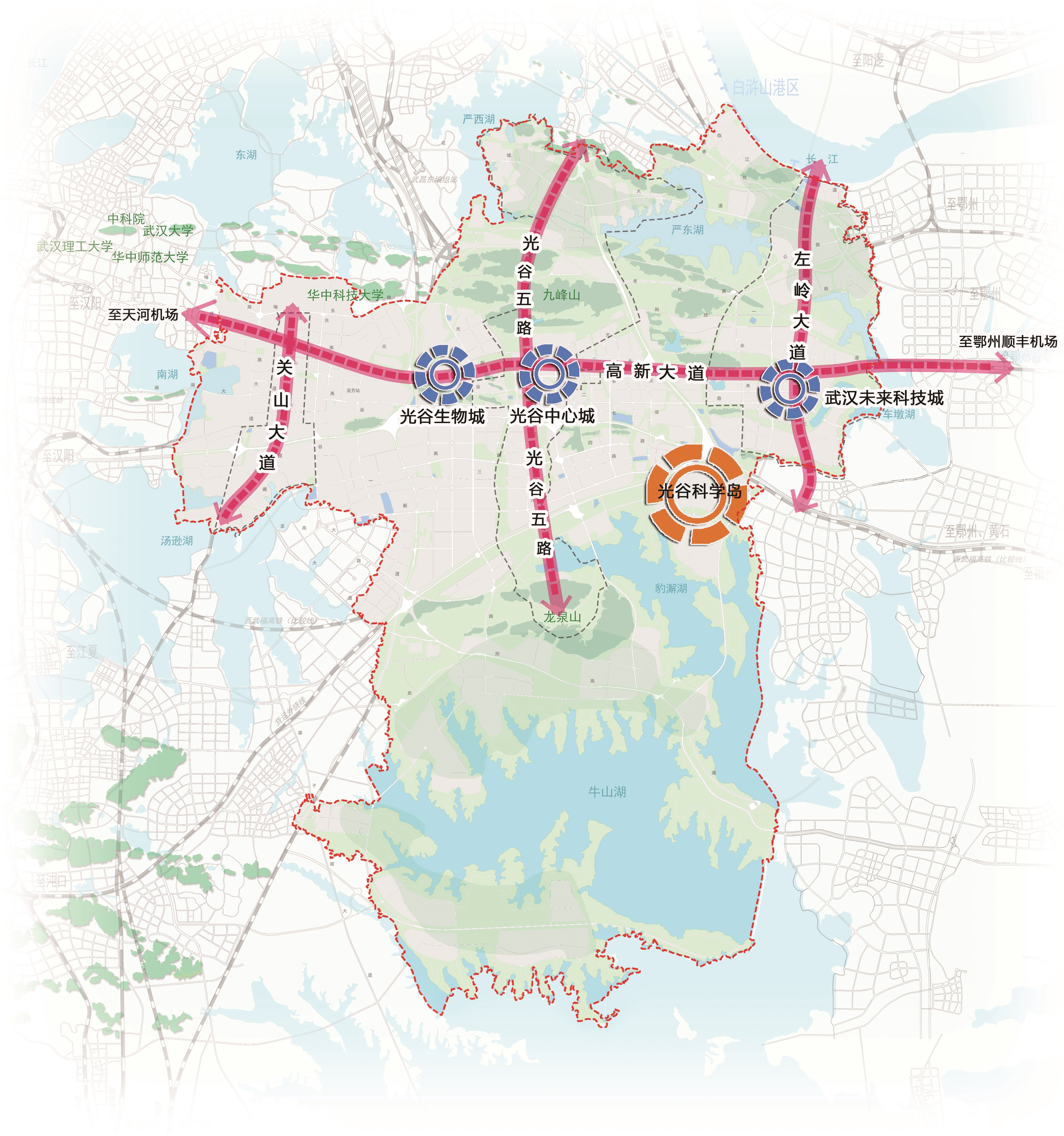 光谷科技创新大走廊核心承载区:湖北全域创新的战略驱动极