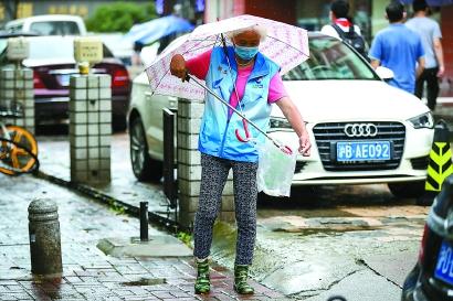 上海:入汛已有9次暴雨,较常年同期偏多近八成