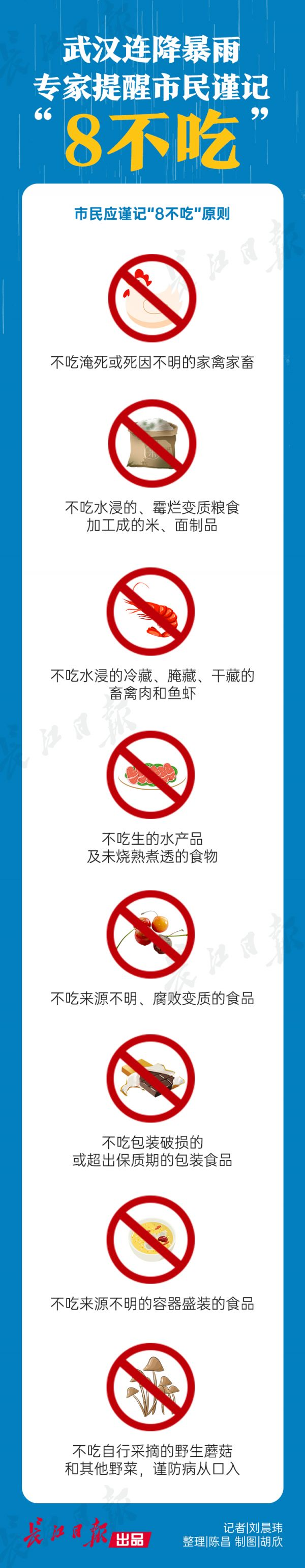 武汉连降暴雨  疾控专家提醒市民