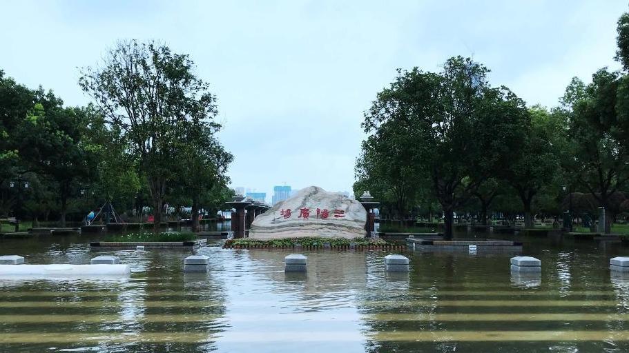 伟德国际1946登陆市汉口江滩建成18年来首次全面过水行洪