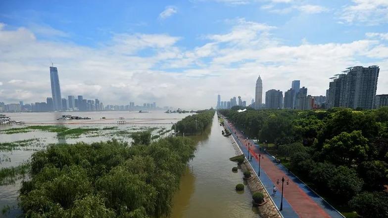 武汉关水位目前已排历史第8