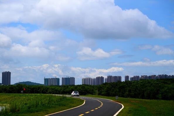 武漢雨后藍天美景看不完