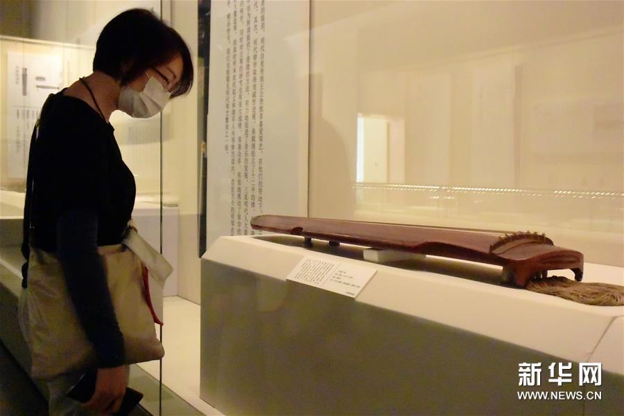 20余件中国珍贵古琴亮相天津博物馆