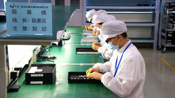 一个月产能抵得上去年半年 武汉光通信产业广收订单逐5G