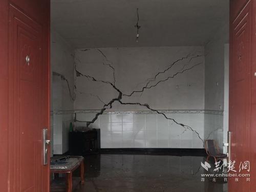 湖北省地质局成功预警英山温泉镇一天门滑坡