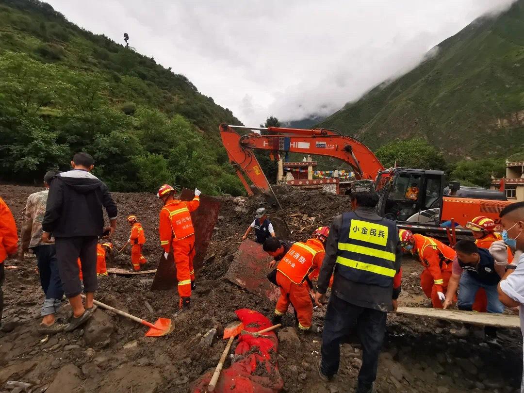 四川阿坝泥石流最后一名失联者已找到 确认遇难