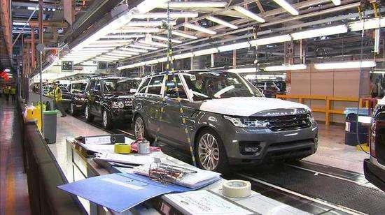 英国上半年汽车产量同比大跌逾40%