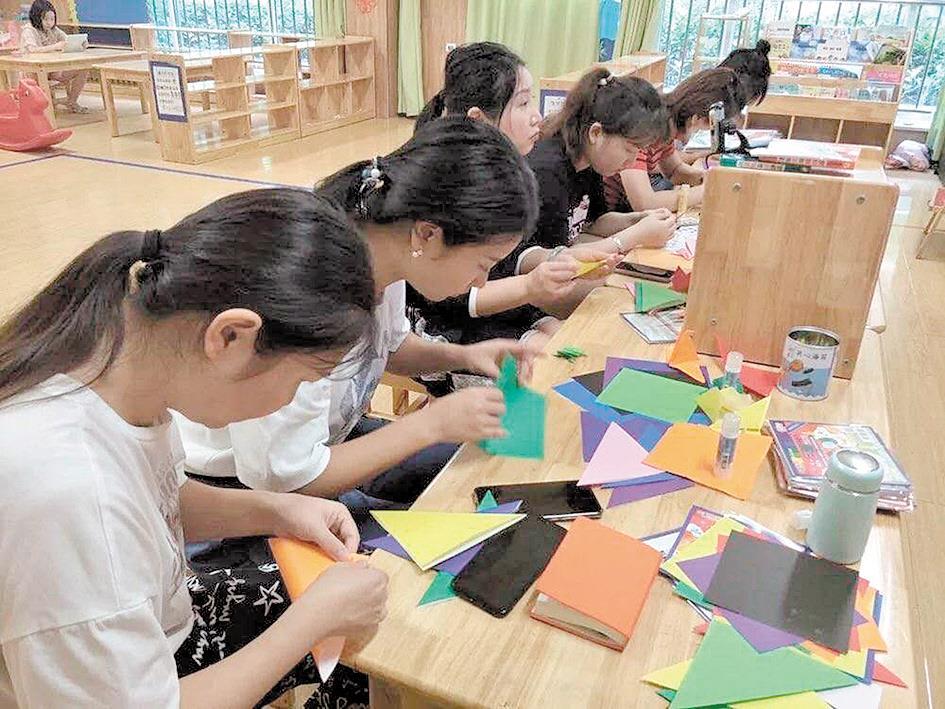韩国折纸文化走进湖北 首期在鄂免费培训130名幼师