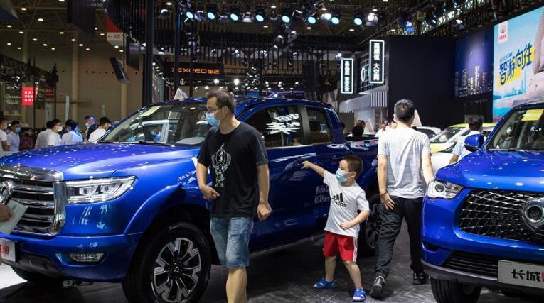 2020第十八届华中国际车展在武汉举行