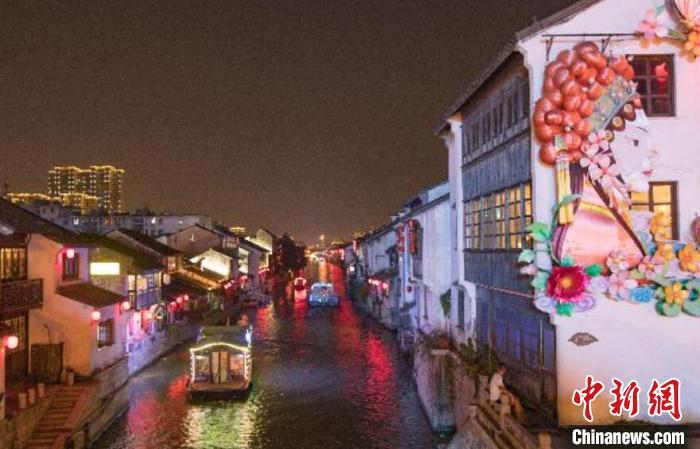 """江苏大运河文旅博览会开幕在即:""""云""""上再现清明上河图"""