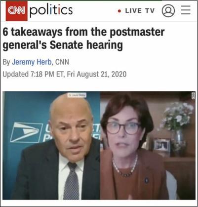 你究竟怎么搞砸的?!关乎大选,美参众两院问责邮政局长