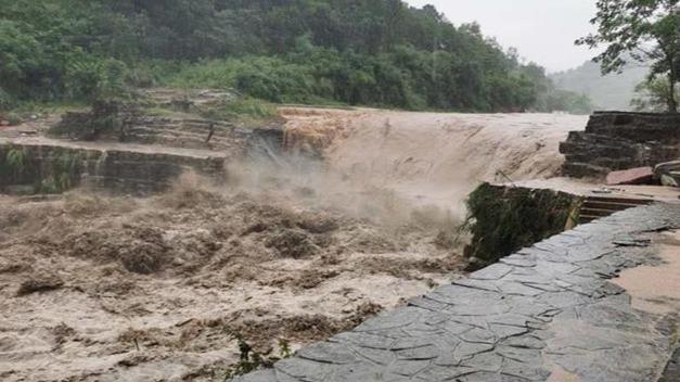 松滋400多年历史的牛车挡水坝将重建
