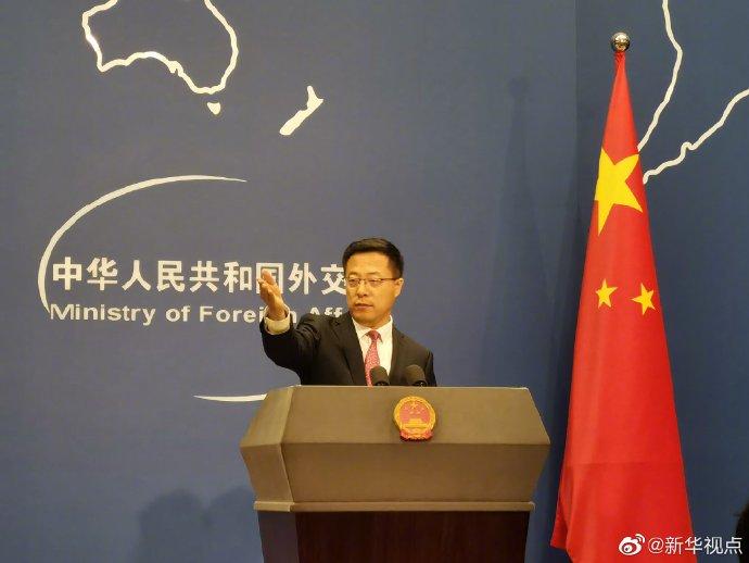 """美防长称已做好应对中国的准备,赵立坚用""""一二三""""回应"""