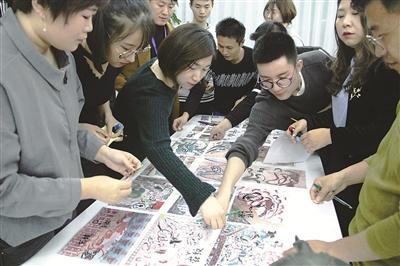 越来越多的年轻人参与传播优秀传统文化