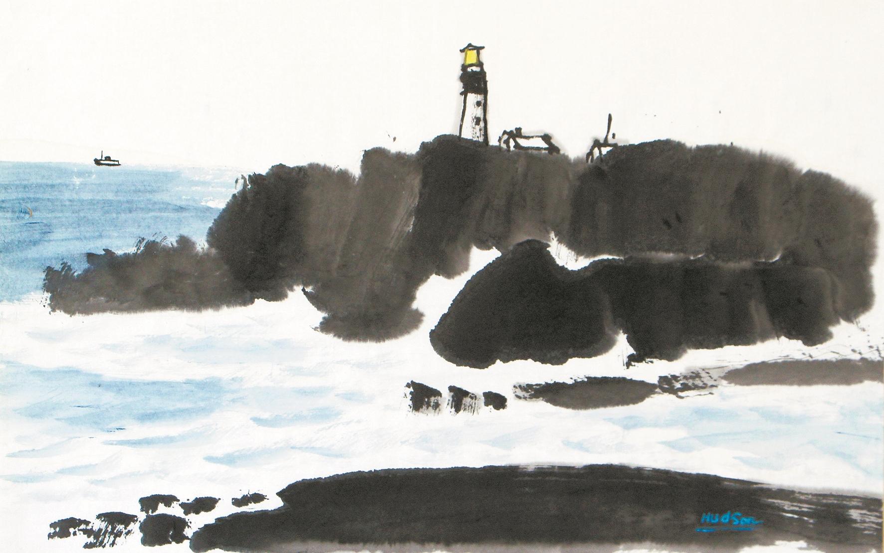 走进熊海泉的艺术之路——东风西渐 书画相融