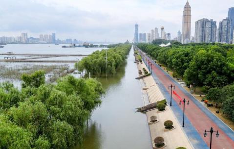 武汉汉口江滩公园即将恢复开放