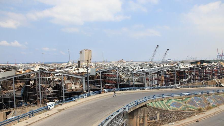黎巴嫩首都贝鲁特:爆炸之后