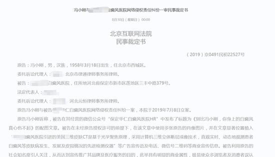 """41万!医院使用冯小刚宣传治疗""""白癜风""""被重罚"""