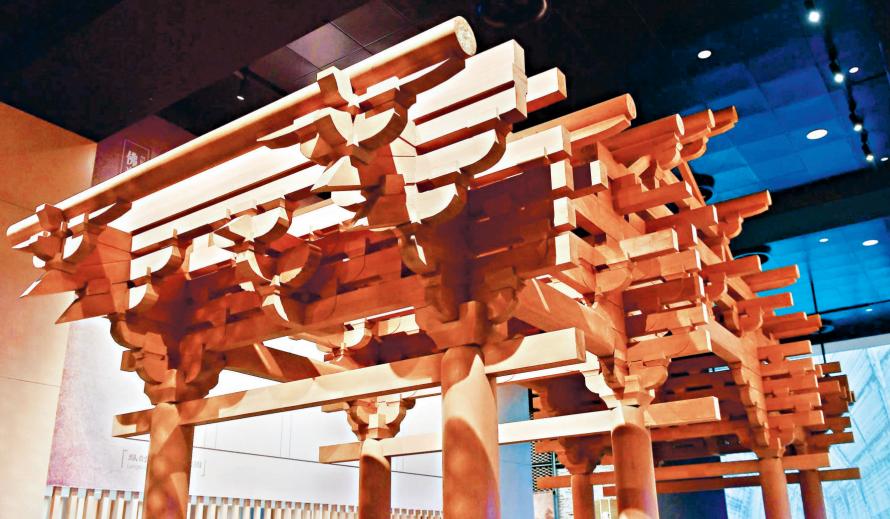 首家中国建筑科技馆在汉开馆 一馆阅尽7000年中国建筑智慧