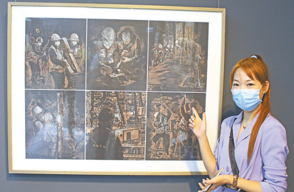 """全省18家画院一百多件佳作集中展出 展现""""抗击疫情""""和""""全面小康""""两大主题"""