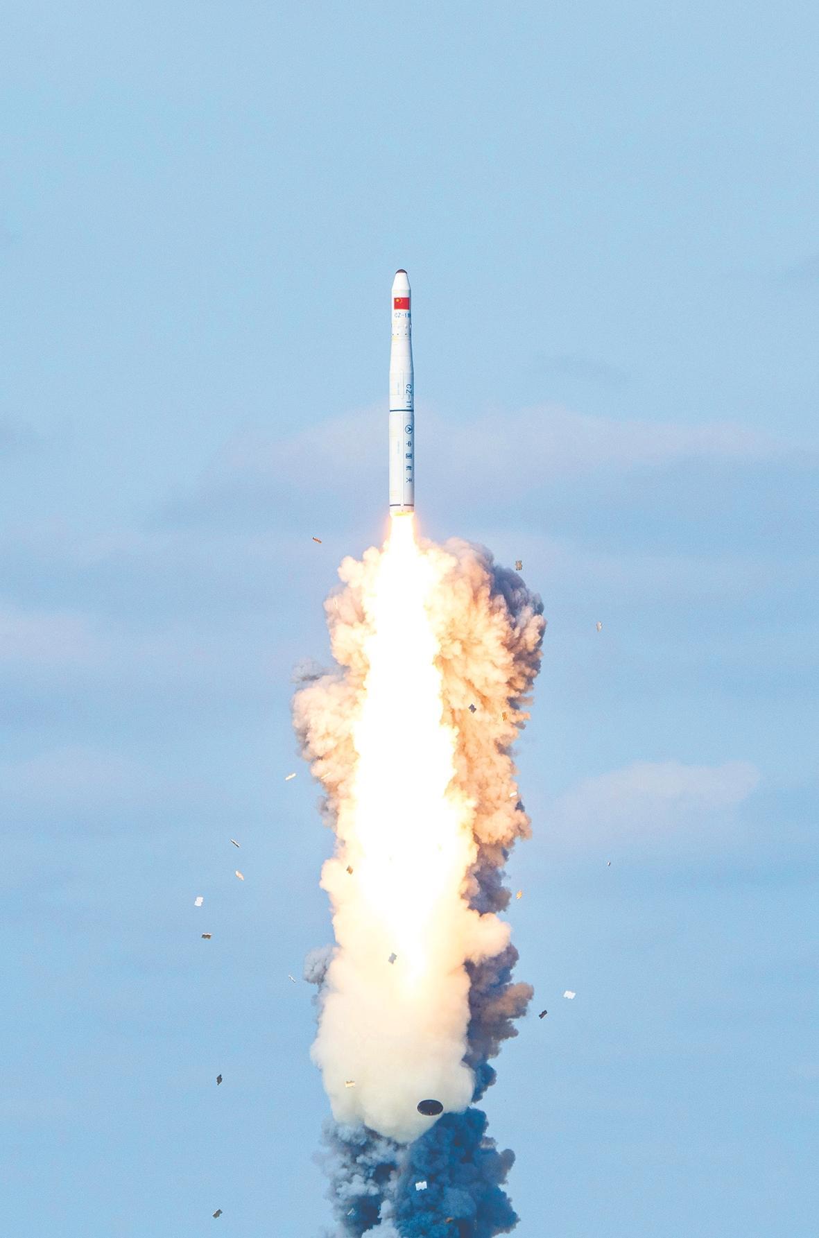 我国首次实现海上商业化应用发射