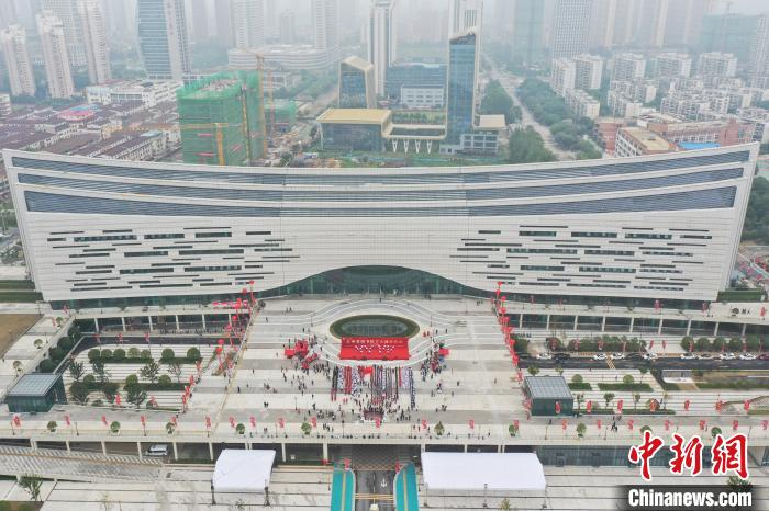 江西省图书馆和江西省博物馆新馆开馆