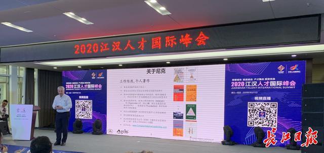 线上线下,国外专家为武汉人力资源产业发展献策