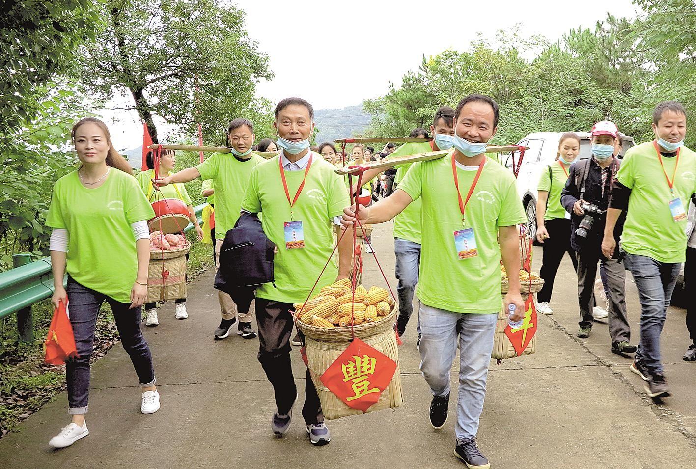 庆丰收 迎小康 湖北省各地欢庆农民丰收节