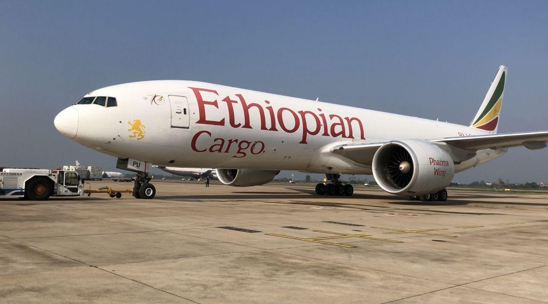武汉开通首条直飞非洲定期货运航线