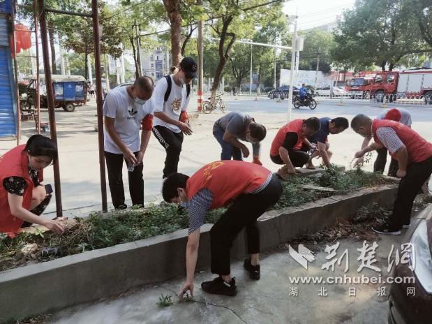 1号主管计划武汉纱帽街多方联动开展环境整治