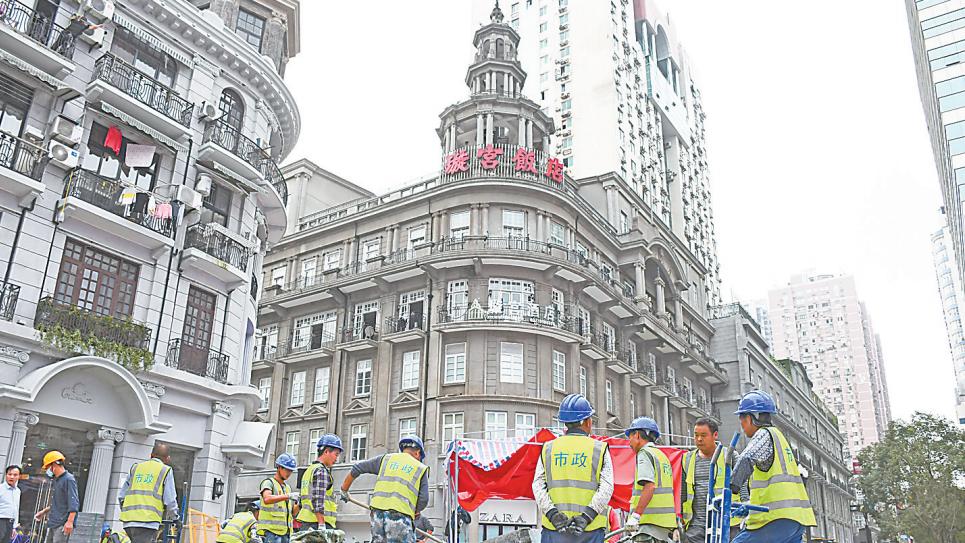 江汉路步行街明日开街试运营
