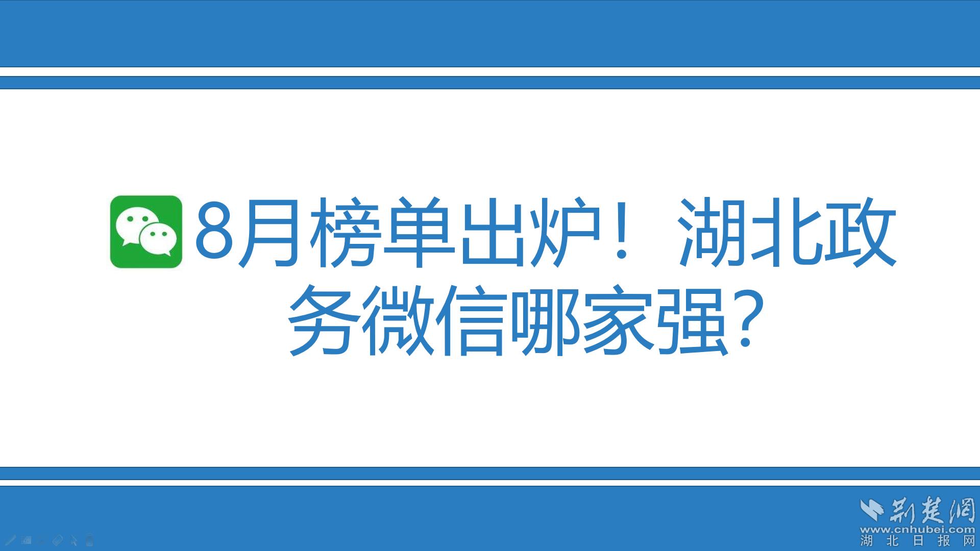8月榜单出炉!万博官网manbet手机版政务微信哪家强?
