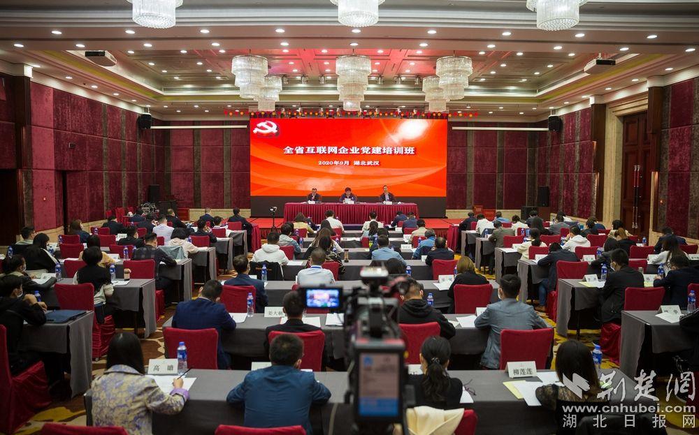 全省互联网企业党建培训班在汉举办