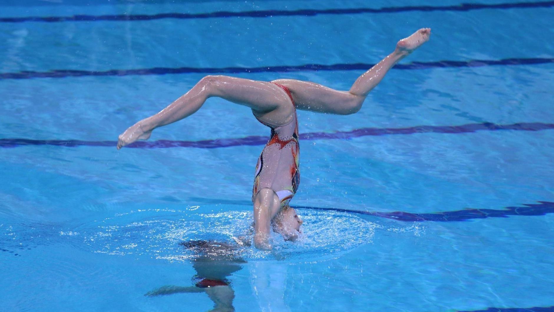 2020年全国花样游泳锦标赛在武汉开赛