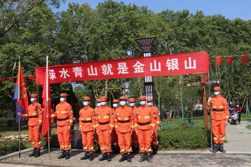 机动支队四大队深入林区开展森林防火宣传活动